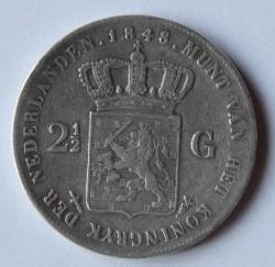 Image #1 of 2-1/2 Gulden 1848