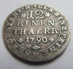 Image #1 of 1/12 Thaler 1790