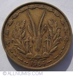 Image #2 of 10 Francs 1964