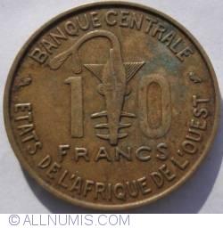 Image #1 of 10 Francs 1964