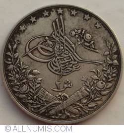 Imaginea #2 a 2 Qirsh 1885 (AH1293/11)
