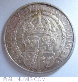 Image #1 of 2 Kronor 1921