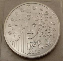 Image #2 of 6,55957 Francs (1 Euro) 2000