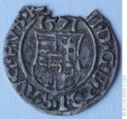 Image #2 of 1 Dinar 1571