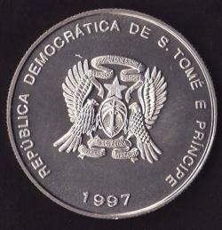 Image #2 of 2000 Dobras - 1 Euro 1997