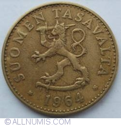 Imaginea #2 a 50 Pennia 1964