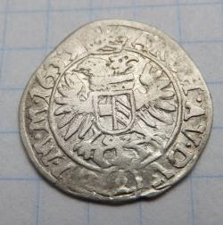 Imaginea #2 a 3 Kreuzer 1633