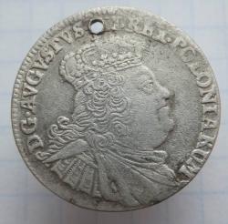 Imaginea #2 a 6 Groszy 1756