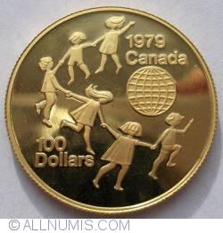 Image #1 of 100 Dollar 1979 - International Year of the Child