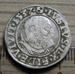 Image #2 of 1 Groschen 1537