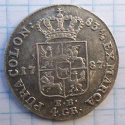 4 Groschen 1787