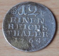 Image #1 of 1/12 Reichsthaler 1764