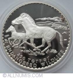 Image #1 of 250 Tugrik 1992 - Przewalski Horses
