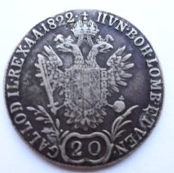 Image #1 of 20 Kreuzer 1822 E