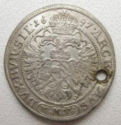 Image #1 of 3 Kreuzer 1697