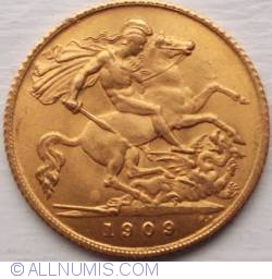 Half Sovereign 1909