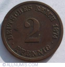 Image #1 of 2 Pfennig 1874 A