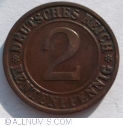 Image #1 of 2 Rentenpfennig 1923 J