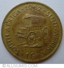 Imaginea #1 a 1 Cent 1962