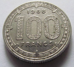 Image #1 of 100 Francs 1968