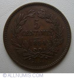 Image #2 of 5 Centimes 1854