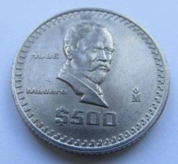 Image #1 of 500 Pesos 1986