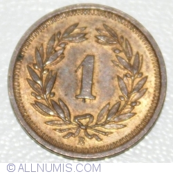 Image #1 of 1 Rappen 1915