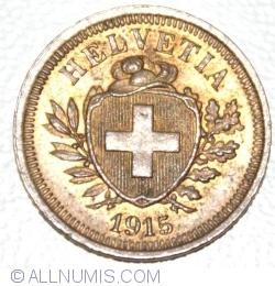 Image #2 of 1 Rappen 1915
