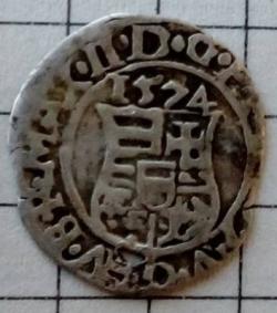 Image #1 of 1 Dinar 1574
