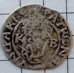 Image #2 of 1 Dinar 1574