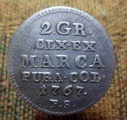 2 Groschen (1/2 Zloty) 1767