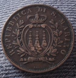 Imaginea #2 a 10 Centesimi 1894 R