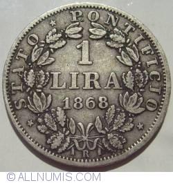 Image #1 of 1 Lira 1868 (XXII)