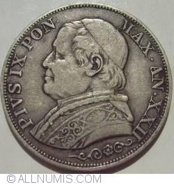 Image #2 of 1 Lira 1868 (XXII)