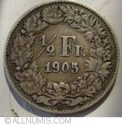 Image #1 of 1/2 Franc 1905