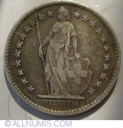 Image #2 of 1/2 Franc 1905