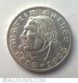 Image #2 of 2 Reichsmark 1933 E