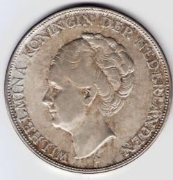 Image #2 of 2 1/2 Gulden 1932