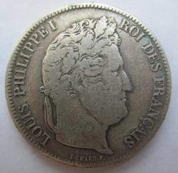 Image #2 of 5 Francs 1833 D
