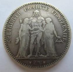 Image #2 of 5 Francs 1873 K