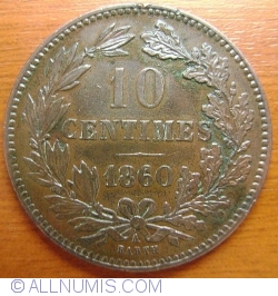 Image #1 of 10 Centimes 1860 A