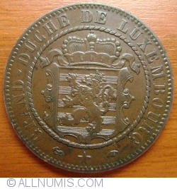 Image #2 of 10 Centimes 1860 A