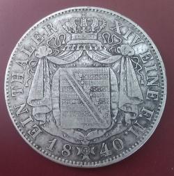 Image #1 of 1 Thaler 1840