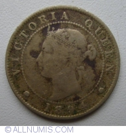 Image #2 of 1/2 Penny 1894