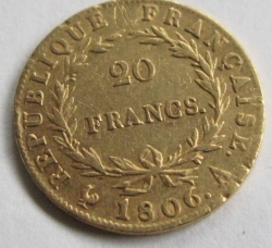 Image #1 of 20 Francs 1806 A