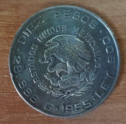 Image #1 of 10 Pesos 1955