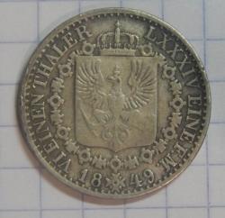1/6 Thaler 1849