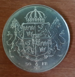 Image #1 of 50 Kronor 1976 - Royal Wedding