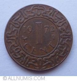 Image #1 of 1 Cent 1972