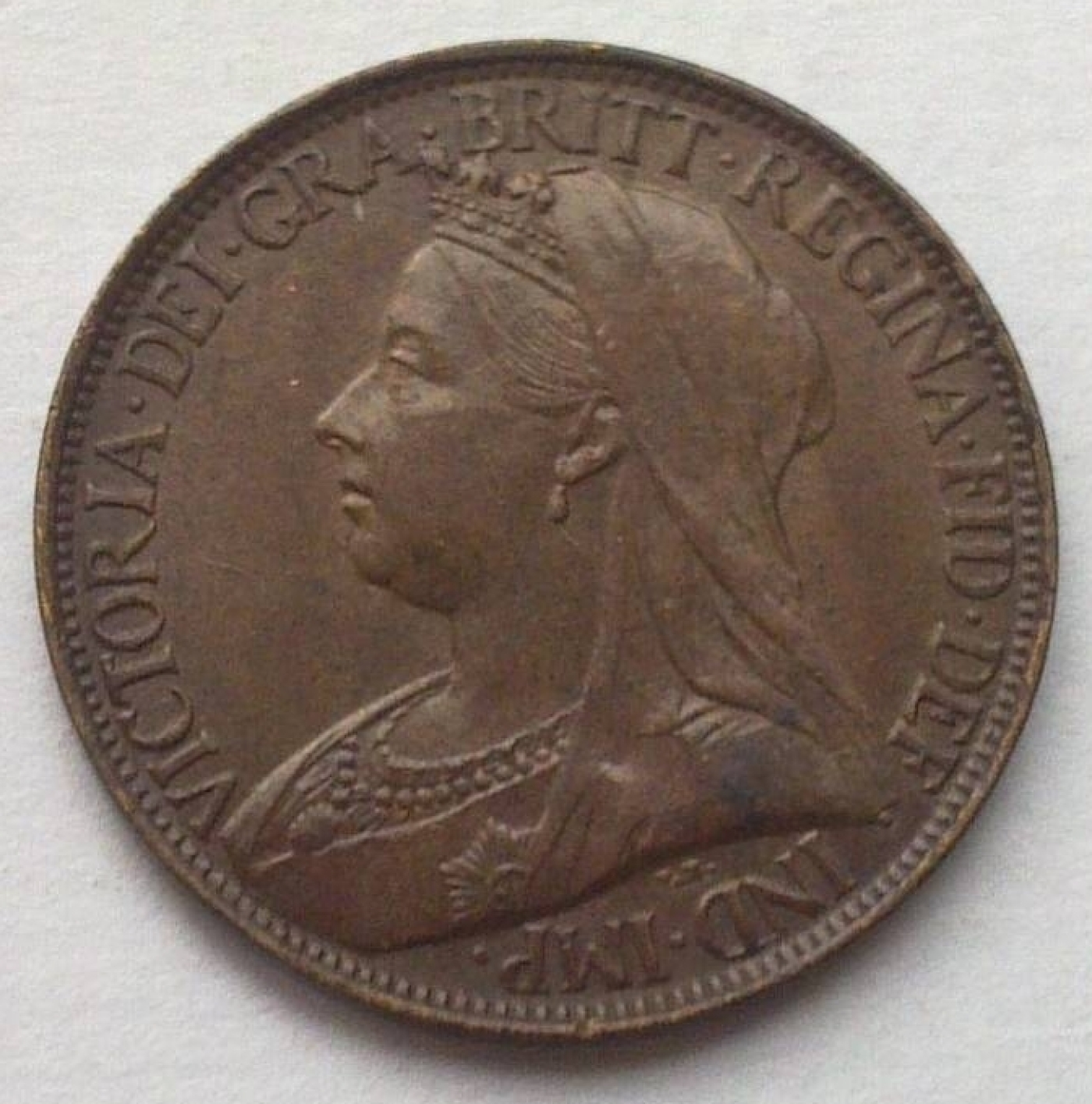 Farthing 1897, Victoria (1837-1901) - Great Britain - Coin